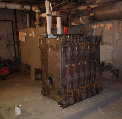 Cast Iron Sectional Boiler in Pontiac Michigan