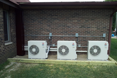 Lake Orion Michigan Ductless Split Systems Mr Slim